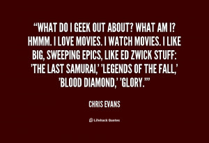 Chris Evans Quotes
