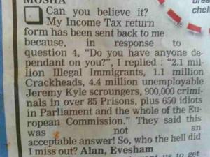 Million Illegal Immigrants, 1.1 Million Crackheads, 4.4 Million ...