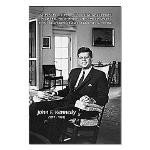 Humanist John F. Kennedy Small Poster