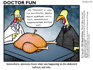 ... permission. Visit the Doctor Fun site to see other funny cartoons