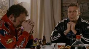 Will Ferrell Ricky Bobby Baby Jesus