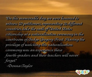 Memorable Day Quotes
