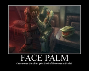 master chief facepalm