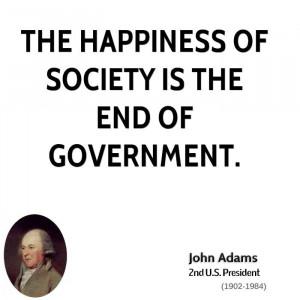 John Adams Society Quotes