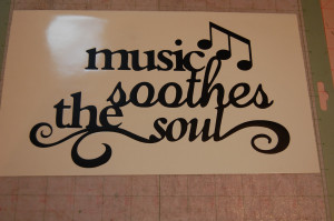 Quotes About Music And The Soul Music soothes the soul canvas