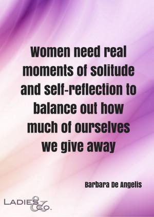 quote Barbara De Angelis - Ladies & Co. The hub for UK businesswomen ...