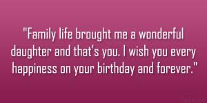 26 Loving Daughter Birthday Quotes - 24