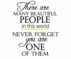Quotes About Beautiful People Quotesgram