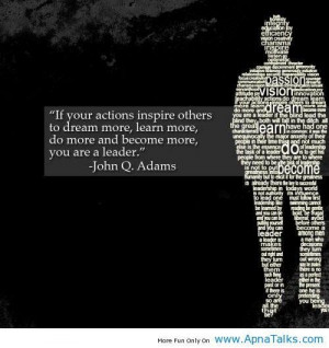 Leadership quote motivational famous saying for success