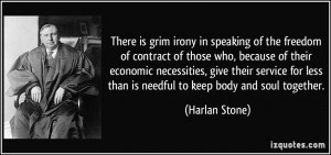 More Harlan Stone Quotes