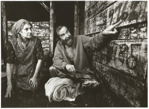 Athol Fugard with Suzanne Shepherd in A Place With the Pigs at the