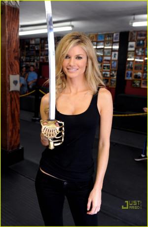 Marisa Miller Sexy Sword Siren