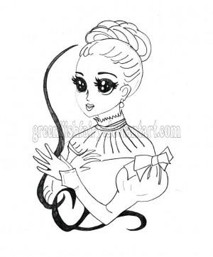 Sketch Captured Fairy Akai...