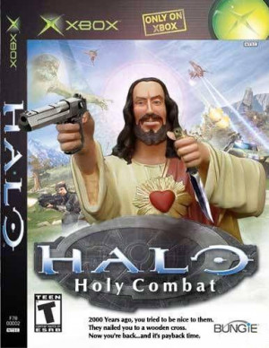 Image - Jesus halo awesome funny jesus.jpg - The Fallout wiki ...