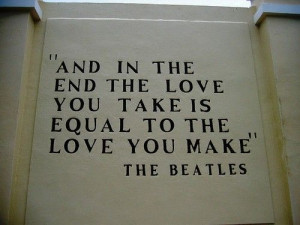Beatles Quote in Quotes