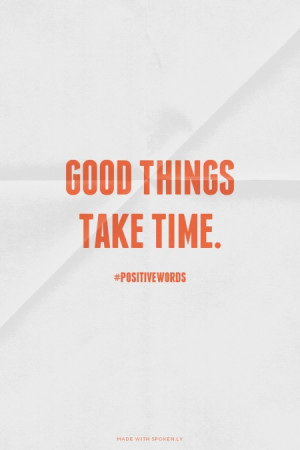 Take Time Quotes