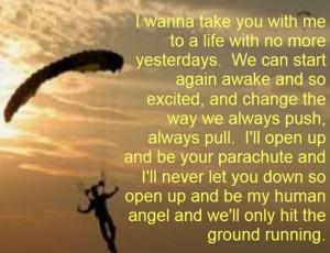 - Parachute - song lyrics, music lyrics, song quotes, music quotes ...