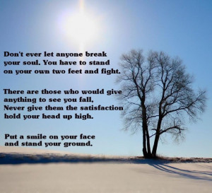 Stand Your Ground!