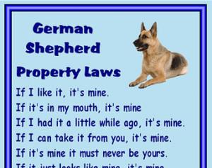 German Shepherd Fridge magnet - var ious designs available ...
