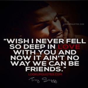 Trey Songz Quotes And Sayings About Picture Quotes