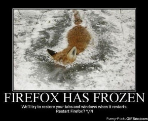 Firefox has frozen - Funny Pictures, MEME and Funny GIF from GIFSec ...