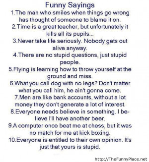 Top 10 funny sayings of the year - Funny Pictures, Awesome Pictures ...