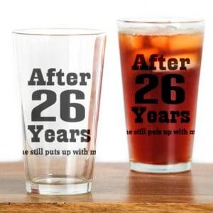 Anniversary Gifts > 26 Year Anniversary Kitchen & Entertaining > 26th ...