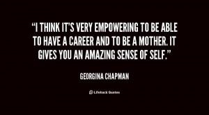 Quotes by Georgina Chapman