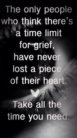 Grief. Loss. Quote.