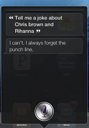 Tell me a Chris Brown joke?