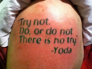 Epic Star Wars Quote