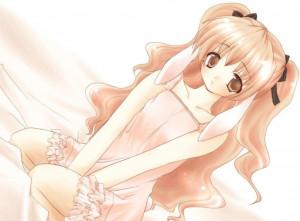 Cute Anime Girls Shy Little