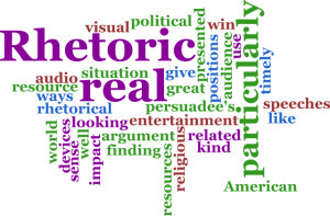 Rhetoric is a poor substitute for action, and we have trusted only to ...