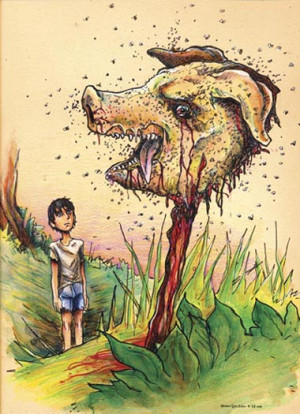 Some people get confused as to what/who the real beast is in this book ...