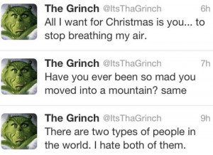 The Grinch. #funny #thegrinch #christmas