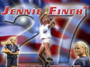 Usa Softball Jennie Finch Picture