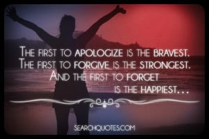 Apologize-Forgive-Forget