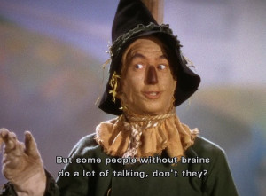 scarecrow wizard of oz quotes