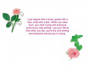 Some of Beautiful Quotes with beautiful flowers