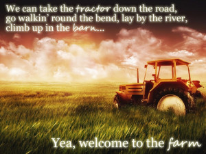 Luke Bryan - Welcome To The Farm