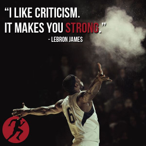 Lebron James knows. #adversity #quotes #basketball #stronger