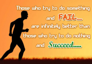Success and failure motivational quotes