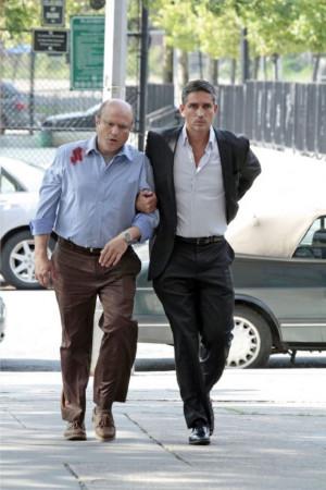 Enrico Colantoni et James Caviezel - Person of Interest © 2012 CBS