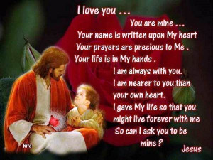 Jesus Christ Wallpaper with Quotes and Sayings 2014