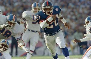 Bowl XXI, Jan. 25, 1987, Rose Bowl, Pasadena, Calif.: New York Giants ...