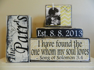 Personalized+wedding+gift/decoration+quote+chevron+by+FayesAttic11,+$ ...