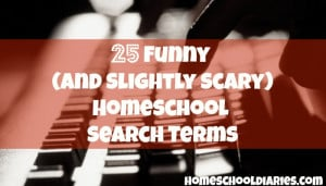 25 Funny (And Slightly Scary) Homeschool Search Terms