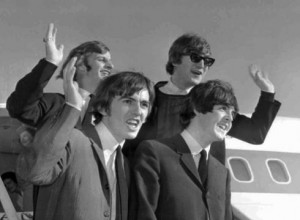 British invasion: The Beatles arrive in San Francisco in 1964 on their ...