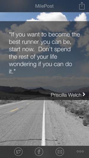 Endurance Quotes Running This Milepost Running Quote of
