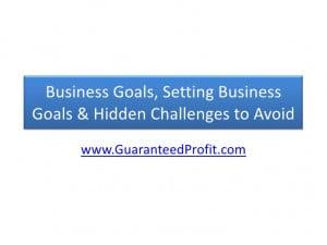 Will Goal Setting Toolkit...